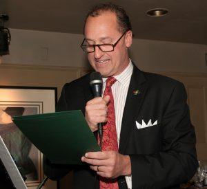 photo of Mayor reading citiation