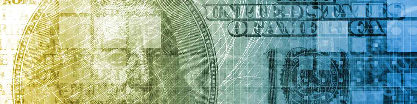 close up of US dollar bill
