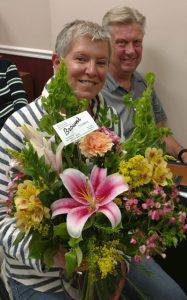 image of door prize winner