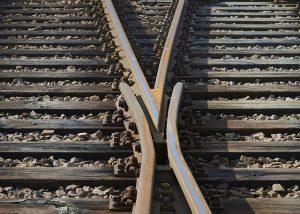 photo: train track