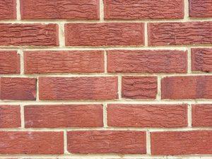 photo: brick foundation